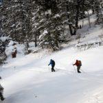 Langlauf Schneeschuh-Wandern